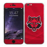 iPhone 6 Skin-Red Wolf Head