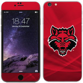 iPhone 6 Plus Skin-Red Wolf Head