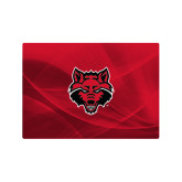 Generic 13 Inch Skin-Red Wolf Head