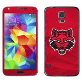 Galaxy S5 Skin-Red Wolf Head