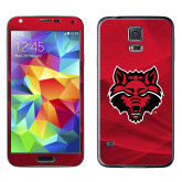 Galaxy S5 Skin-Red Wolf Head