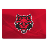 Generic 15 Inch Skin-Red Wolf Head