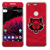Google Pixel Skin-Red Wolf Head