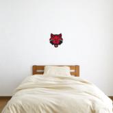 1 ft x 1 ft Fan WallSkinz-Red Wolf Head