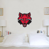 2 ft x 2 ft Fan WallSkinz-Red Wolf Head
