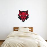 2 ft x 2 ft Fan WallSkinz-Red Wolf Head