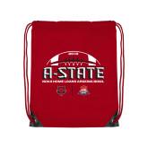 Red Drawstring Backpack-AState 2018 Arizona Bowl
