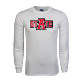 White Long Sleeve T Shirt-A State