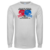 White Long Sleeve T Shirt-Camellia Bowl Arkansa State VS Middle Tennessee