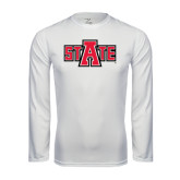 Syntrel Performance White Longsleeve Shirt-A State