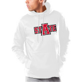 Under Armour White Armour Fleece Hoodie-A State