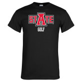 Black T Shirt-Golf
