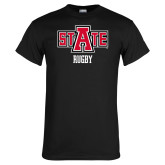 Black T Shirt-Rugby