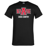 Black T Shirt-Cross Country