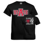 Black T Shirt-A State, Personalized Class Of Tee