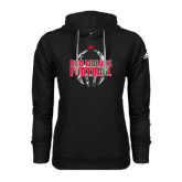 Adidas Climawarm Black Team Issue Hoodie-Red Wolves Football Adidas