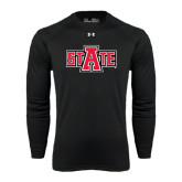 Under Armour Black Long Sleeve Tech Tee-A State