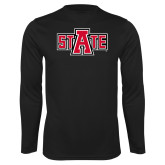 Syntrel Performance Black Longsleeve Shirt-A State