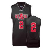 Replica Black Adult Basketball Jersey-#2