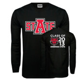 Black Long Sleeve TShirt-A State, Personalized Class Of Tee