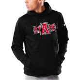Under Armour Black Armour Fleece Hoodie-A State