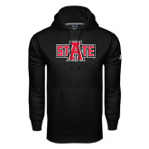 Under Armour Black Performance Sweats Team Hood-A State