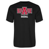 Syntrel Performance Black Tee-Baseball