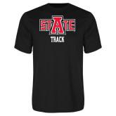 Performance Black Tee-Track