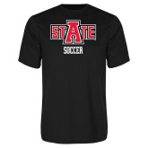 Syntrel Performance Black Tee-Soccer