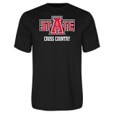 Performance Black Tee-Cross Country