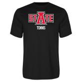 Performance Black Tee-Tennis