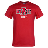 Red T Shirt-Rugby