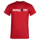 Red T Shirt-Arkansas State Red Wolves