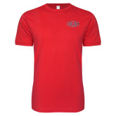 Next Level SoftStyle Red T Shirt-A State