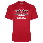 Under Armour Red Tech Tee-Basketball