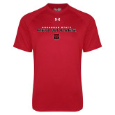 Under Armour Red Tech Tee-Arkansas State Red Wolves Block