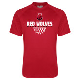 Under Armour Red Tech Tee-Basketball Sharp Net
