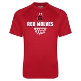 Under Armour Red Tech Tee-Basketball Sharp Net