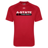 Under Armour Red Tech Tee-Football Bar