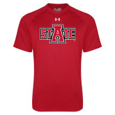 Under Armour Red Tech Tee-A State