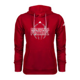 Adidas Climawarm Red Team Issue Hoodie-Red Wolves Football Adidas