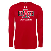 Under Armour Red Long Sleeve Tech Tee-Cross Country