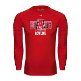 Under Armour Red Long Sleeve Tech Tee-Bowling