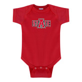 Red Infant Onesie-A State