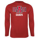 Syntrel Performance Red Longsleeve Shirt-Grandpa