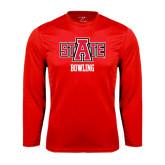 Syntrel Performance Red Longsleeve Shirt-Bowling