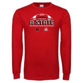 Red Long Sleeve T Shirt-AState 2018 Arizona Bowl
