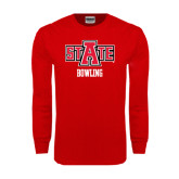 Red Long Sleeve T Shirt-Bowling