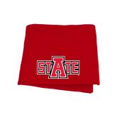 Red Sweatshirt Blanket-A State