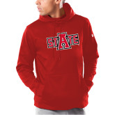 Under Armour Red Armour Fleece Hoodie-A State